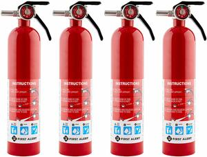 8. First Alert Home Fire Extinguisher - 4-Pk