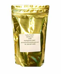 #8. Sulfur Powder 99.9% Purity Easy Open Bag, Resealable