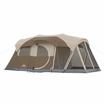 9 Coleman WeatherMaster 6-People Tent with Screen Room