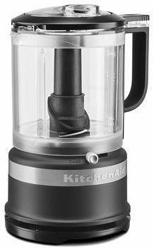 9 KitchenAid KFC0516BM 5 Cup Whisking Accessory Food Chopper, Black Matte