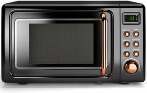 9. COSTWAY Retro Countertop Microwave Oven