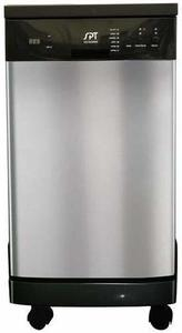 #9. SPT SD-9241SS Portable Energy Star Compact Dishwasher