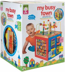 #1 Alex Toys Wooden Activity Cube