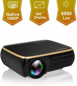 #1 HOLLYWTOP M8 Native Full HD LED Projector
