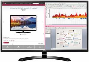 #1 LG 32-Inch IPS Monitor