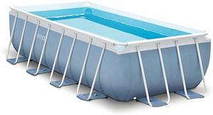 #10 Intex Prism Frame Rectangular Pool Set with Filter Pump