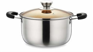 #11 Stainless Steel Stockpot P&P CHEF 4 Quart Stockpot