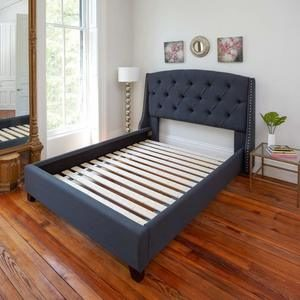 #2 Classic Brands Heavy-Duty Attached Solid Wood Bed