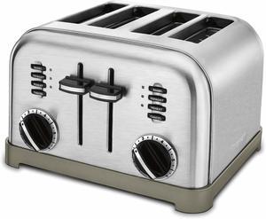 #2 Cuisinart CPT-180 Metal Classic 4-Slice Toaster