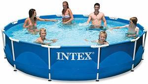 #2 Intex Metal Frame Pool