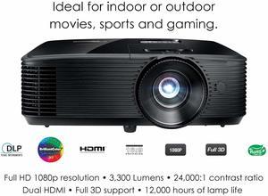 #2 Optoma HD243X 1080p Projector