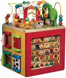 #3 Battat Wooden Activity Cube