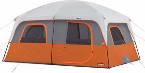 #4 CORE 10 Person Straight Wall Cabin Tent