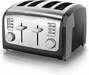 #6 BLACK + DECKER 4-Slice Toaster
