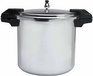 #6 Mirro 92122A Polished Aluminum Pressure Cooker