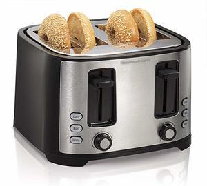 #7 Hamilton Beach 4-Slice Toaster
