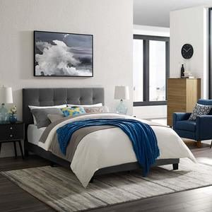 #8 Modway Amira Tufted Performance Velvet Upholstered Twin Bed
