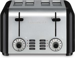 #9 Cuisinart CPT-340 Compact Stainless Steel Toaster
