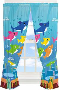 #10 Franco Kids Room Window Curtain Panels with Tie Backs Drapes Set