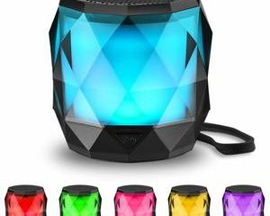 #12 LED Bluetooth Speaker