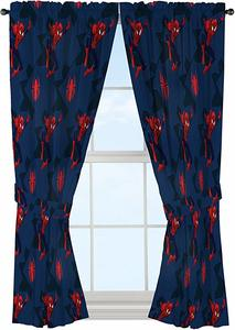 #2 Jay Franco Marvel Avengers Team 63 inch Drapes 4 Piece Set - Beautiful Room Décor & Easy Set up - Window Curtains Include 2 Panels & 2 Tiebacks (Official Marvel Product)