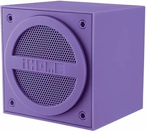 #8 iHome Bluetooth Rechargeable Mini Speaker Cube - Purple (iBT16UC)