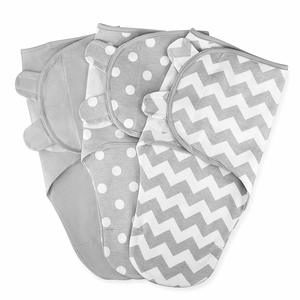 01- Comfy Cubs Swaddle Blanket Baby Girl Boy