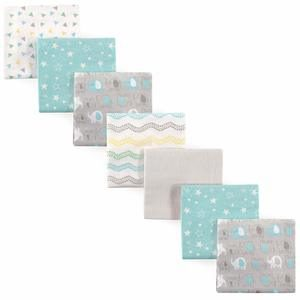 09- Luvable Friends Unisex Baby Flannel Receiving Blankets
