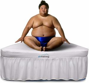 1- Air Mattress Full Size Raised Inflatable Bed