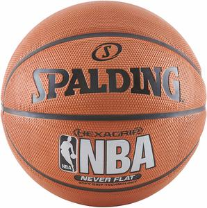 #1- Spalding Neverflat Hexagrip Basketball