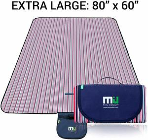 1. MIU COLOR Large Waterproof Outdoor Picnic Blanket