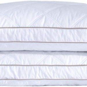 #1. Natural Goose Down Feather Pillows for Sleeping Down Pillow