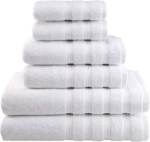 #10- American Soft Linen 6-Piece 100% Turkish Genuine Cotton Premium