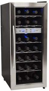 10. EdgeStar Bottle Freestanding Dual Zone Wine Cooler