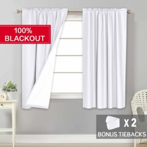 10. Flamingo Waterproof Curtains