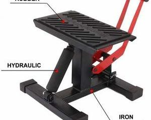 10. Motorcycle Jack Dirt Bike Stand
