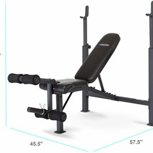 #2- Marcy Competitor Adjustable Olympic Weight Bench