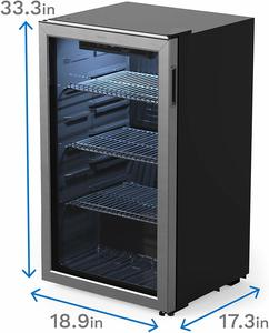 2. Homelabs Beverage Refrigerator and Cooler