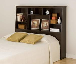 2. Parepac Tall Slant-Back Bookcase Headboard
