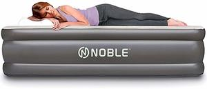 3- Noble Twin XL Size Luxury Double High Raised Air Mattress