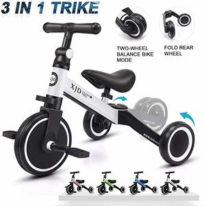 #3- XJD 3 Trikes for Toddler Tricycles Baby Bike Trike Upgrade 2.0