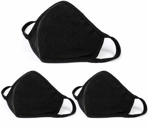 3. Aooba 3 Pcs Protective Surgical Mask Cotton Unisex Dust Mouth Masks