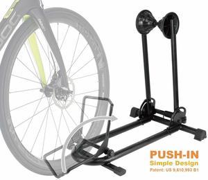 3. Bikehand Bicycle Floor Parking Rack