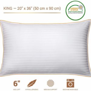 #3. CALM NITE Pillow Protector 2 Pack