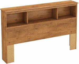 4. South Shore Little Treasures Bookcase Headboard, Country Pine