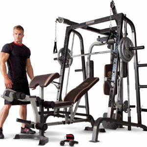 #5- Marcy Smith Cage Workout Machine Bench