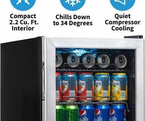 Top 10 Best Glass Door Mini Fridges in 2020 Reviews