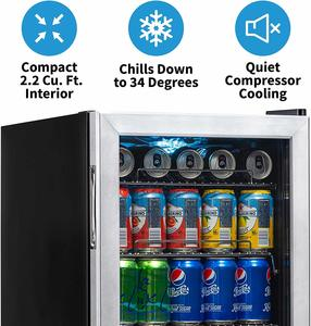 Top 10 Best Glass Door Mini Fridges in 2021 Reviews