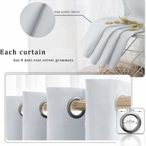 5. Wontex Blackout Curtains
