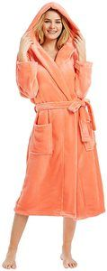 #6 M&M Mymoon Womens Hooded Fleece Robe